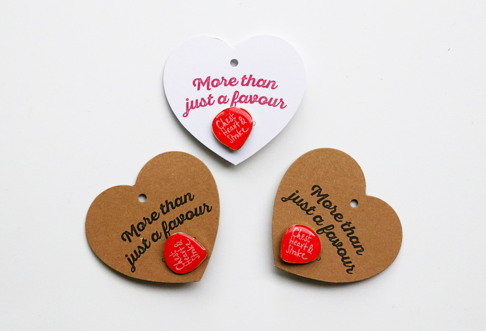Heart Cards & Pin Badges