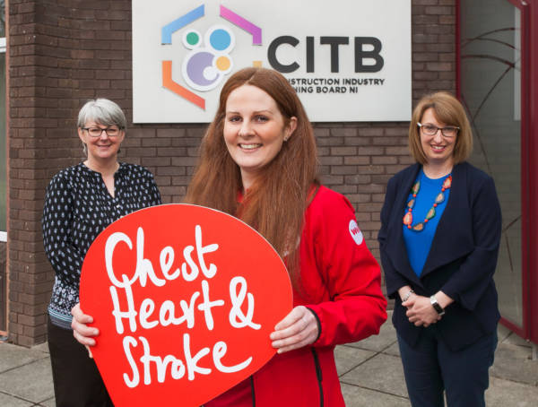 CITB NI in Crumlin teams up with NICHS to prioritise staff health during the pandemic