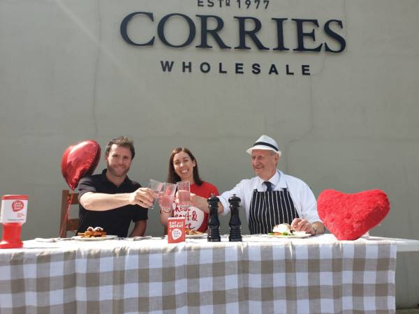 Corries Farm Butchers partner with charity close to their heart