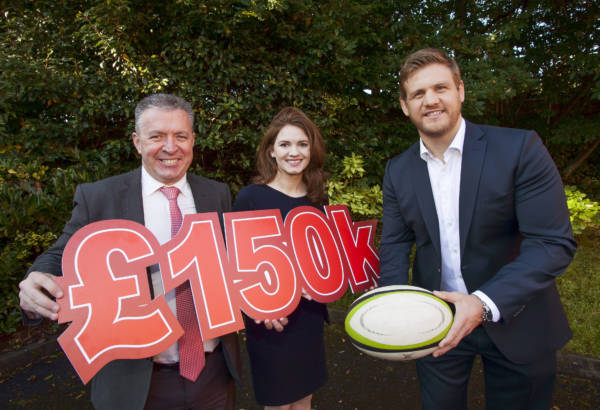 Local rugby legend Chris Henry raises £150K in his Testimonial Year