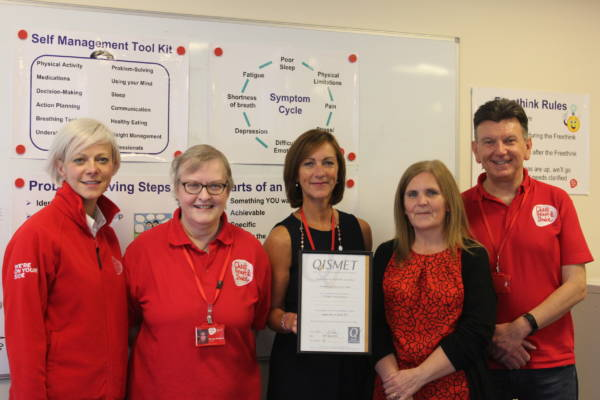 UK Quality First For Local Health Charity