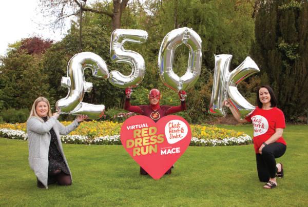 Red Dress Run raises almost £50k for heart disease!