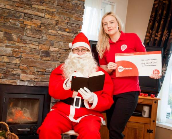 Santa Claus Adds Local Charity Gift Vouchers To Christmas List