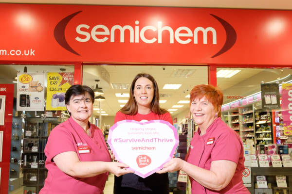 Leading local health charity partners with health driven retailer Semichem to help local stroke survivors survive and thrive
