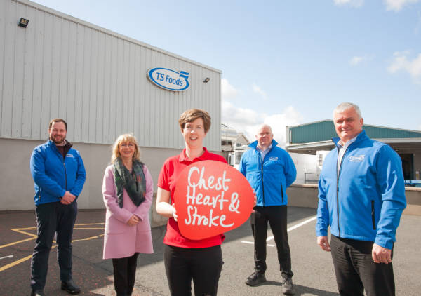TS Foods in Castlewellan teams up with NICHS to prioritise staff health during the pandemic