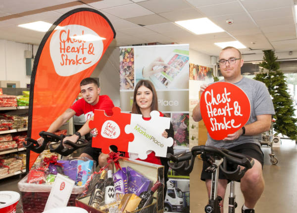 Musgrave MarketPlace go the extra mile to raise funds for NI Chest Heart & Stroke