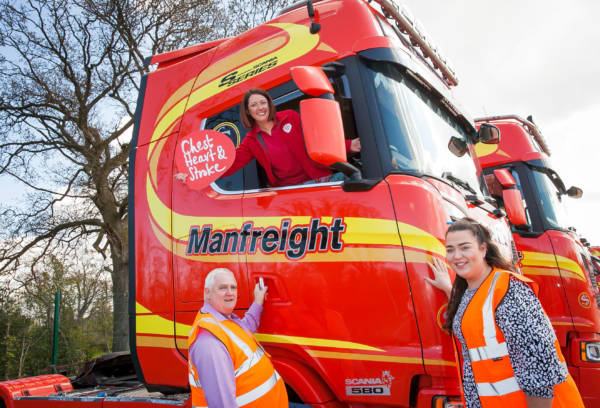 Manfreight Limited in Craigavon teams up with NICHS to prioritise staff health during the pandemic