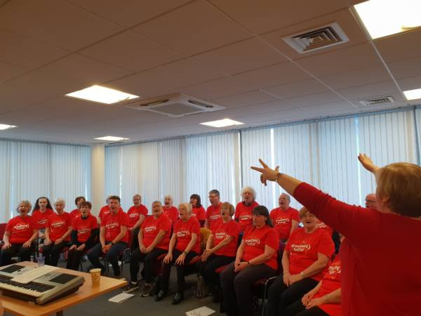 £40 - will enable us us to run an online choir for 30 respiratory patients which helps reduce isolation, boost mental and emotional health and builds lung capacity