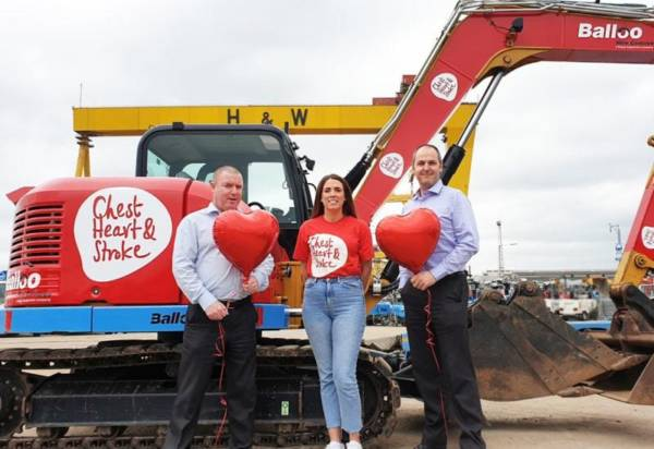 Balloo Hire are digging deep for NICHS!